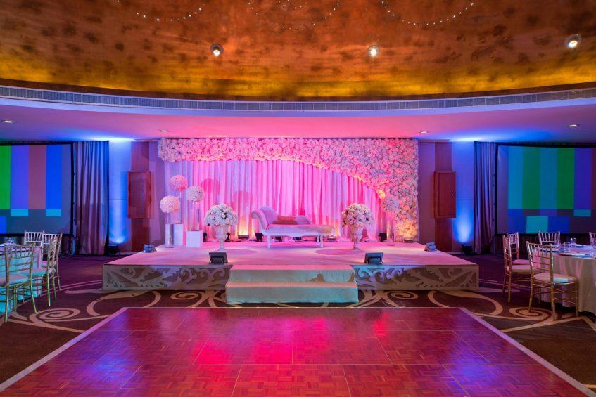 W Doha Luxury Hotel - Doha, Qatar - Wedding Banquet Room Setup
