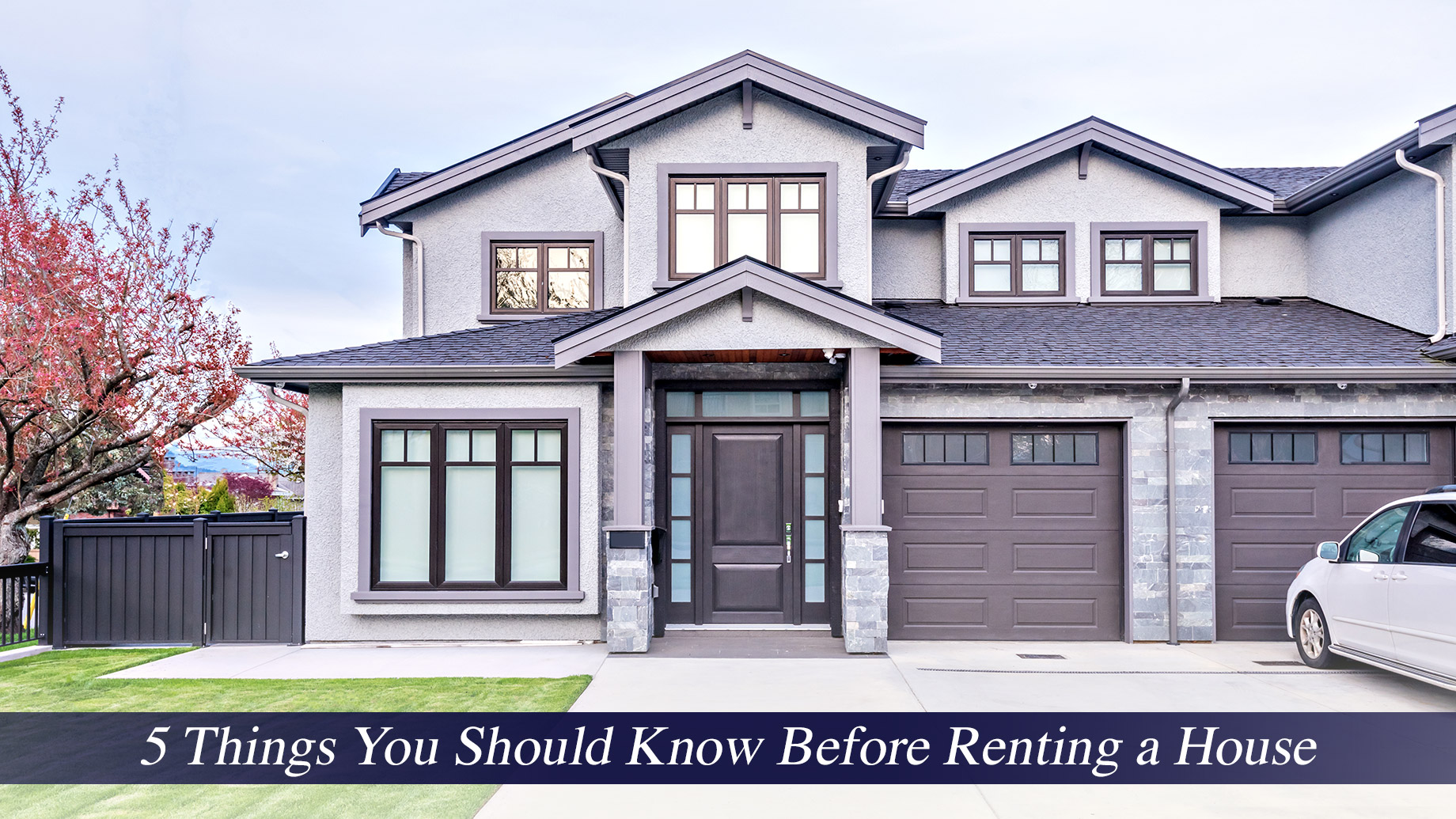 5 Things You Should Know Before Renting a House