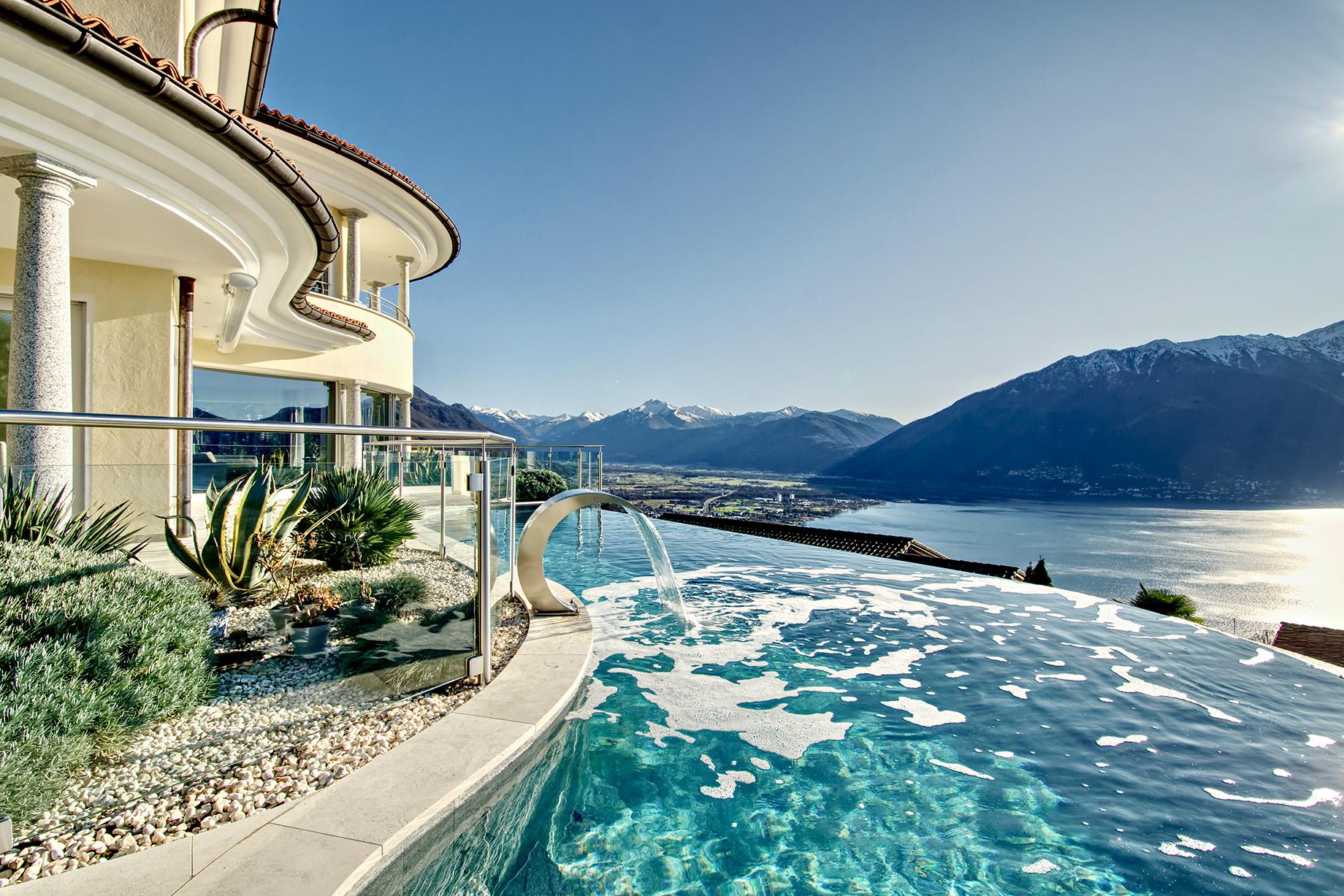 Brione Minusio Vonk Luxury Home - Lake Lugano - Ticino, Switzerland