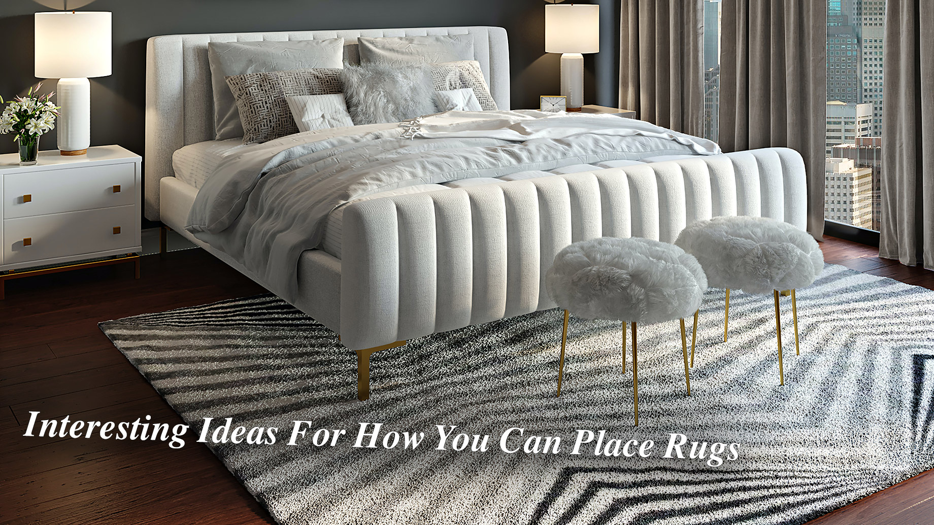 Interesting Ideas For How You Can Place Rugs