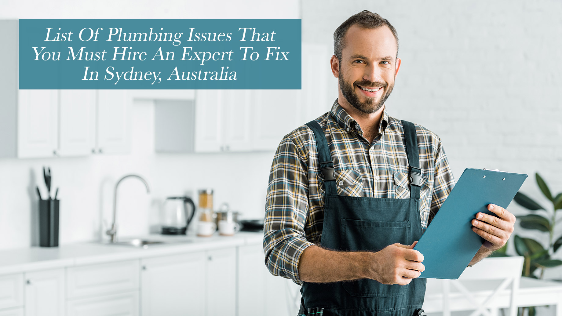 List Of Plumbing Issues That You Must Hire An Expert To Fix In Sydney, Australia