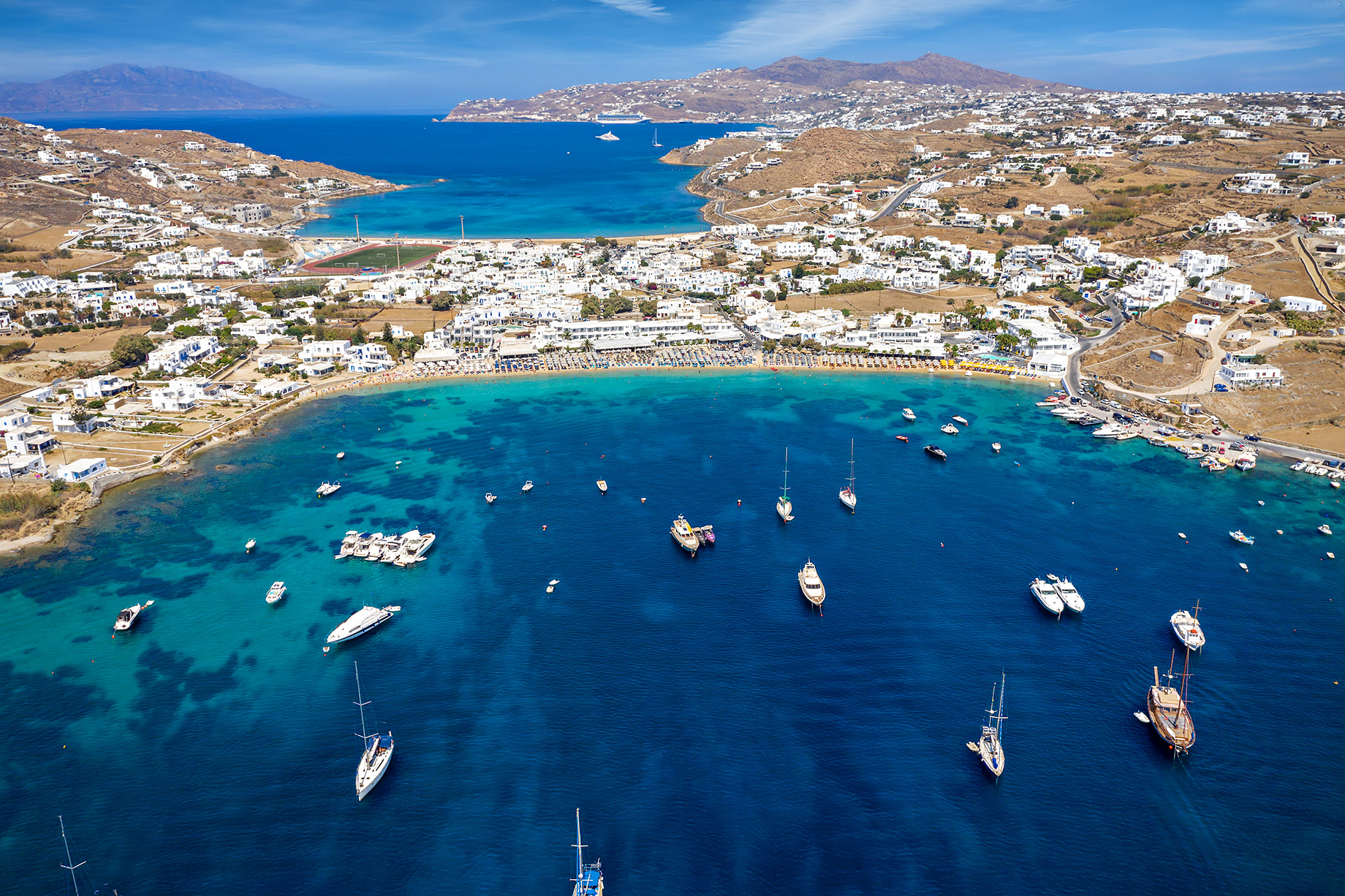 Ornos - Where To Stay In Mykonos, Greece For The First Time