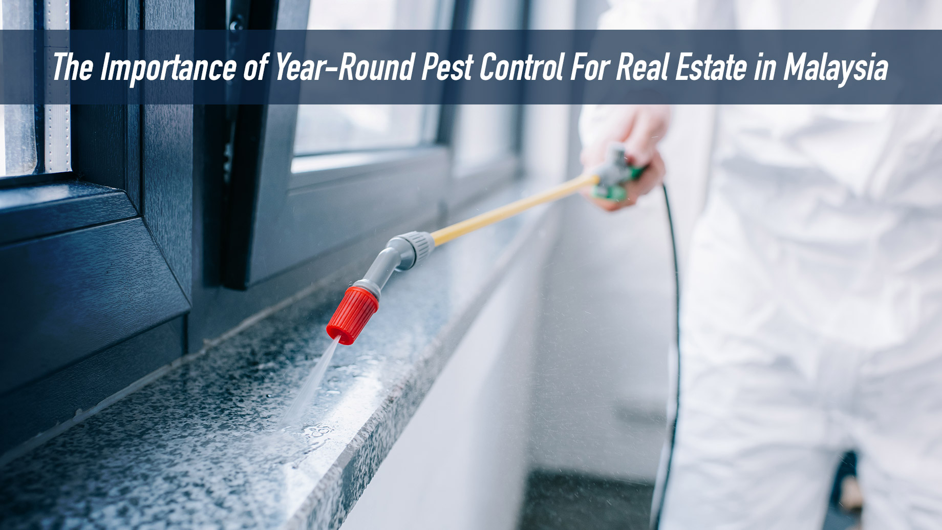 The Importance of Year-Round Pest Control For Real Estate in Malaysia