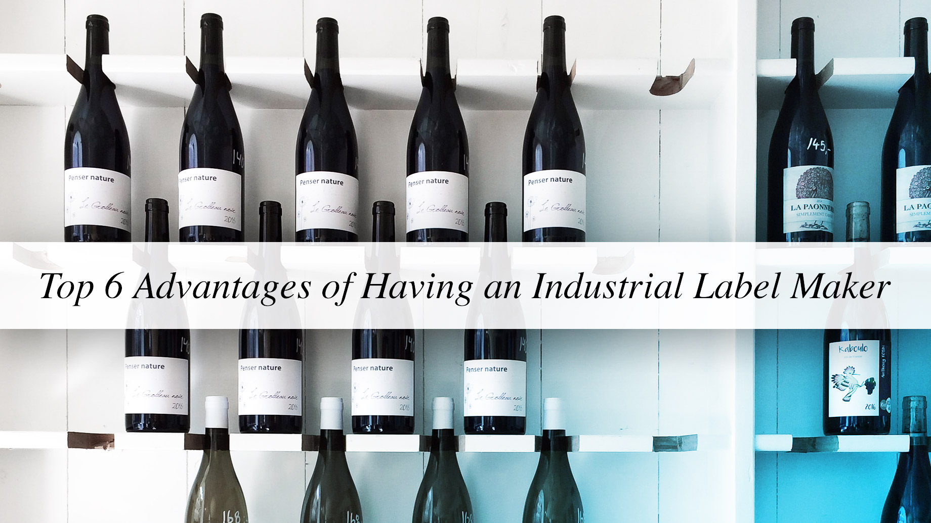 Top 6 Advantages of Having an Industrial Label Maker