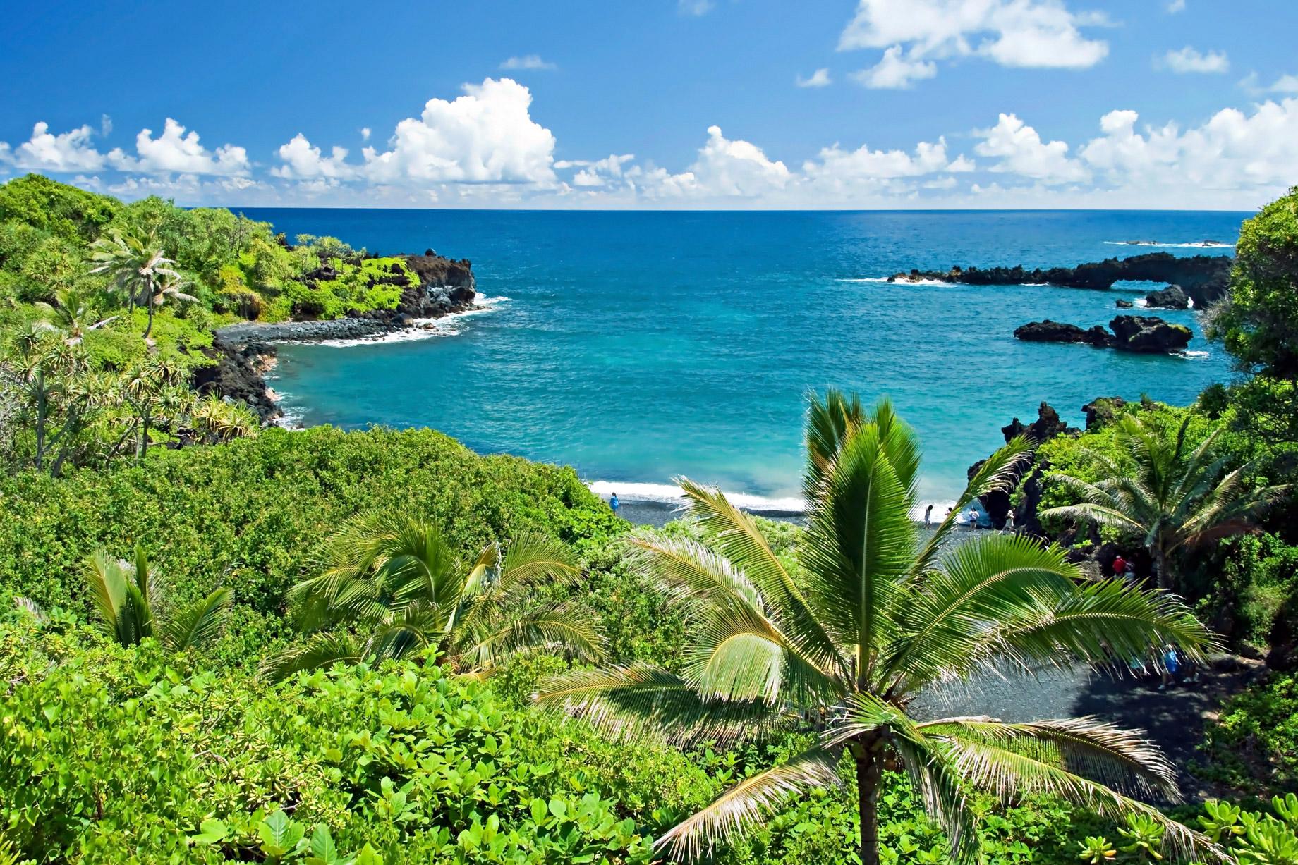 Waianapanapa State Park - Hana, Hawaii, USA - Top 10 Luxury Travel Destinations Around the World