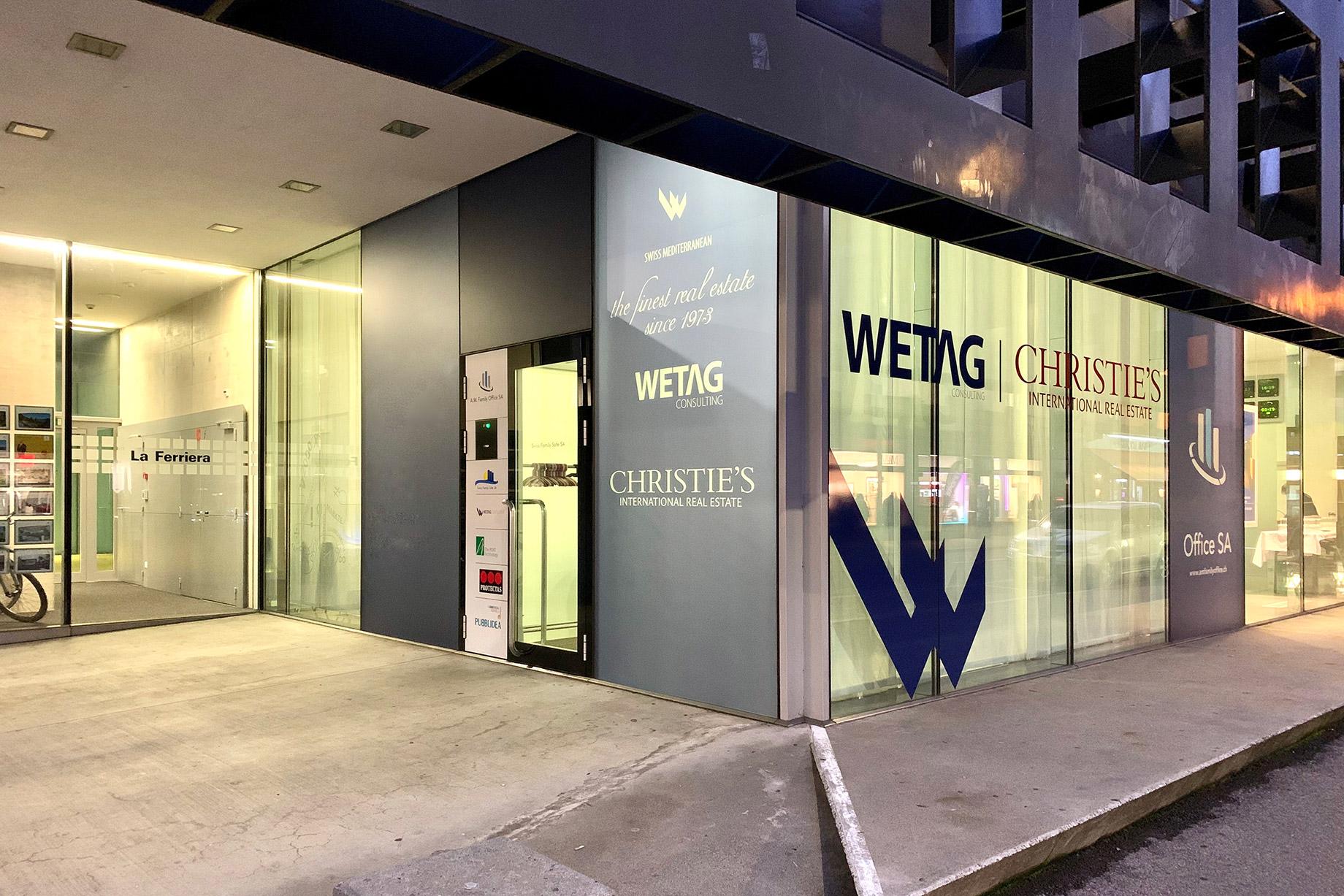 Wetag Consulting HQ Office - Locarno, Ticino, Switzerland