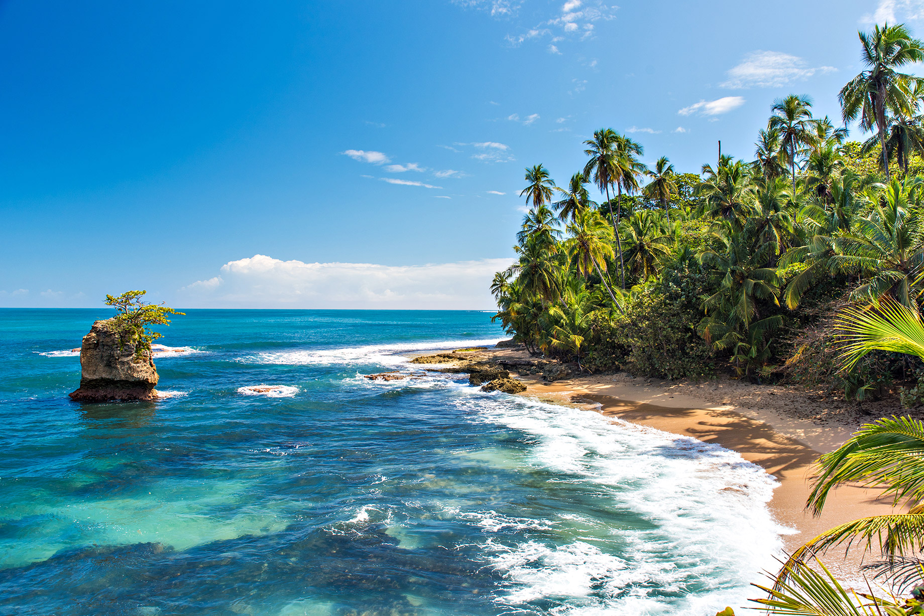 Wild Caribbean Beach of Manzanillo - Puerto Viejo, Costa Rica - Top 10 Luxury Travel Destinations Around the World