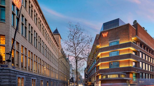 W Amsterdam Luxury Hotel - Amsterdam, Netherlands - Exterior