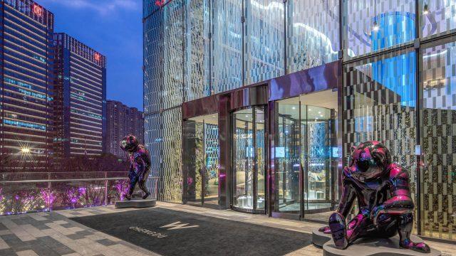 W Chengdu Luxury Hotel - Chengdu, China - Entrance