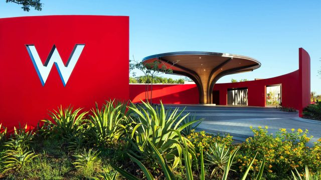 W Costa Rica Reserva Conchal Luxury Resort - Costa Rica - Resort Entrance