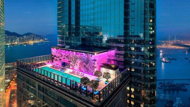W Hong Kong Luxury Hotel - Hong Kong - WET Outdoor Pool