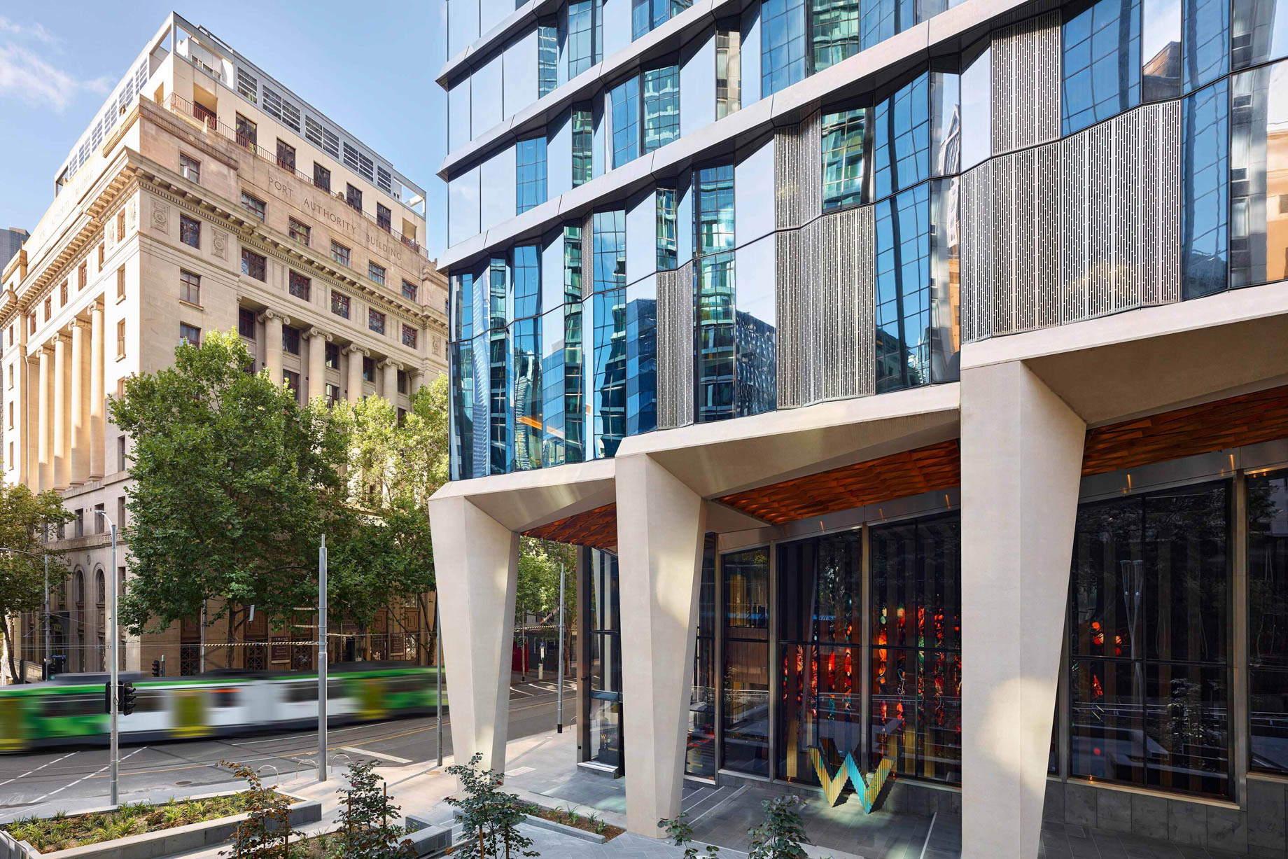 W Melbourne Luxury Hotel - Melbourne, Australia - Hotel Exterior View_