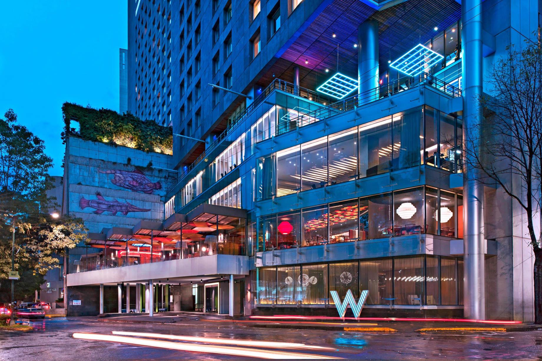 W Mexico City Luxury Hotel - Polanco, Mexico City, Mexico - W Hotel Exterior