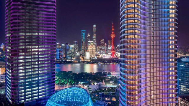 W Shanghai The Bund Luxury Hotel - Shanghai, China