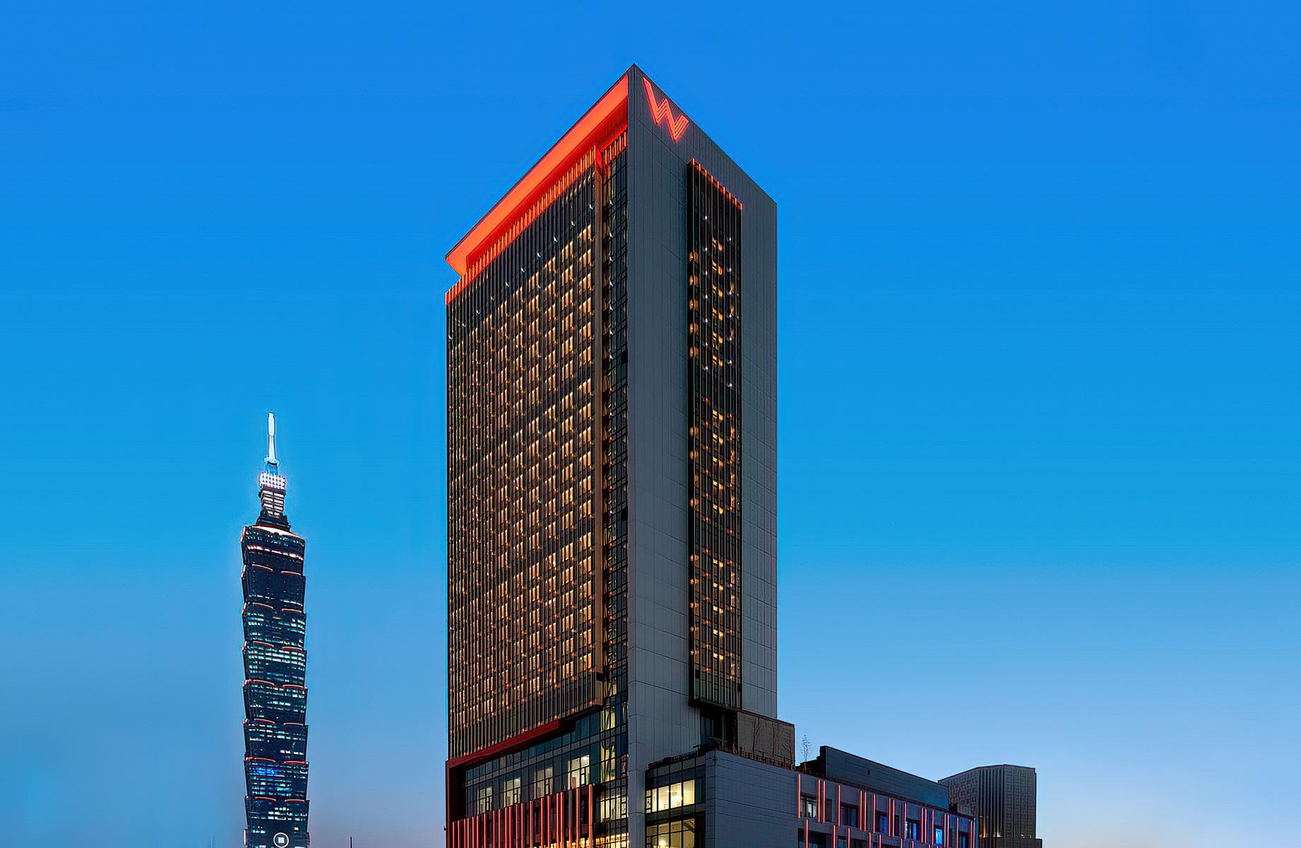 W Taipei Luxury Hotel - Taipei, Taiwan - Hotel Exterior
