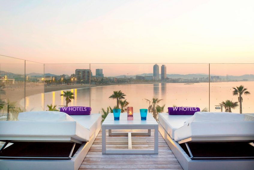 W Barcelona Luxury Hotel - Barcelona, Spain - Extreme WOW Private Cabana