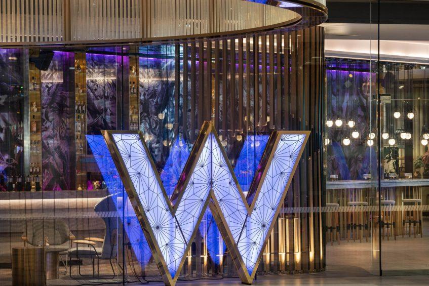 W Brisbane Luxury Hotel - Brisbane, Australia - W Sign Entry via George Street