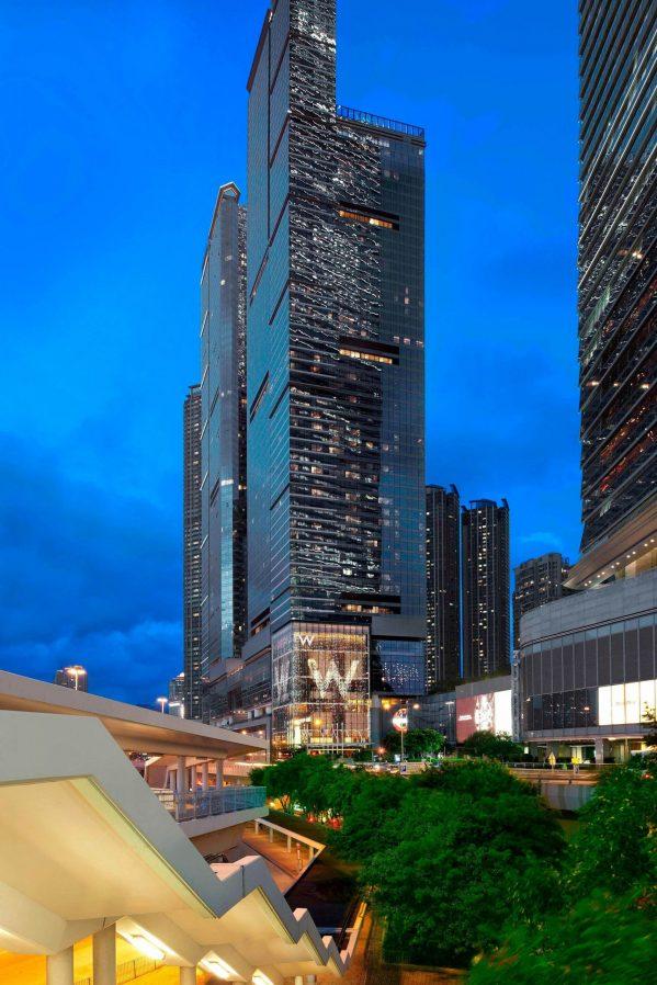 W Hong Kong Luxury Hotel - Hong Kong - Hotel Exterior