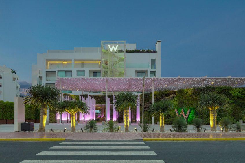 W Ibiza Luxury Hotel - Santa Eulalia del Rio, Spain - Hotel Exterior