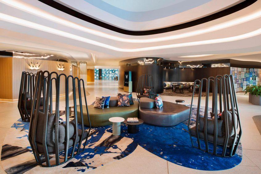 W Brisbane Luxury Hotel - Brisbane, Australia - Lobby Atrium Foyer
