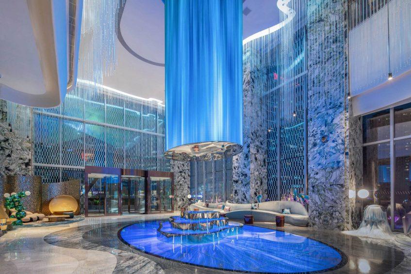 W Chengdu Luxury Hotel - Chengdu, China - Lobby TeamLab Decor
