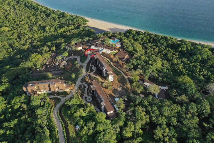 W Costa Rica Reserva Conchal Luxury Resort - Costa Rica - Resort Aerial Ocean View