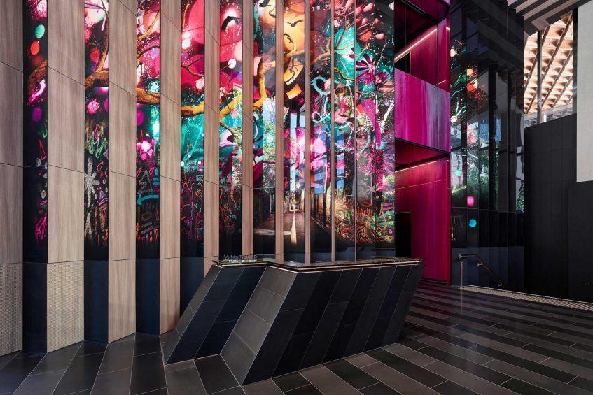 W Melbourne Luxury Hotel - Melbourne, Australia - Lobby Living Room