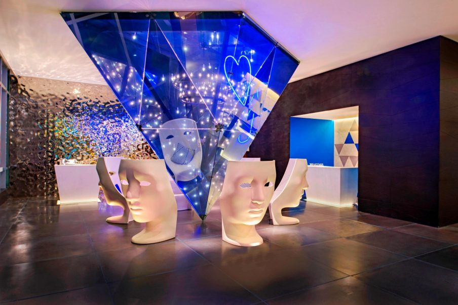 W Mexico City Luxury Hotel - Polanco, Mexico City, Mexico - Lobby Welcome Desk
