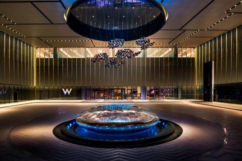 W Suzhou Luxury Hotel - Suzhou, China - Hotel Entrance