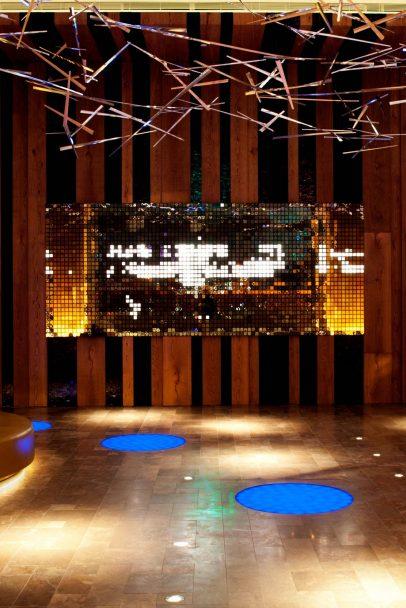 W Taipei Luxury Hotel - Taipei, Taiwan - Design Installation at Entrance