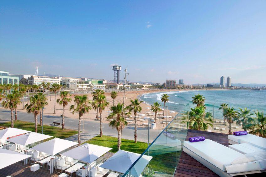 W Barcelona Luxury Hotel - Barcelona, Spain - Extreme Wow Cabana