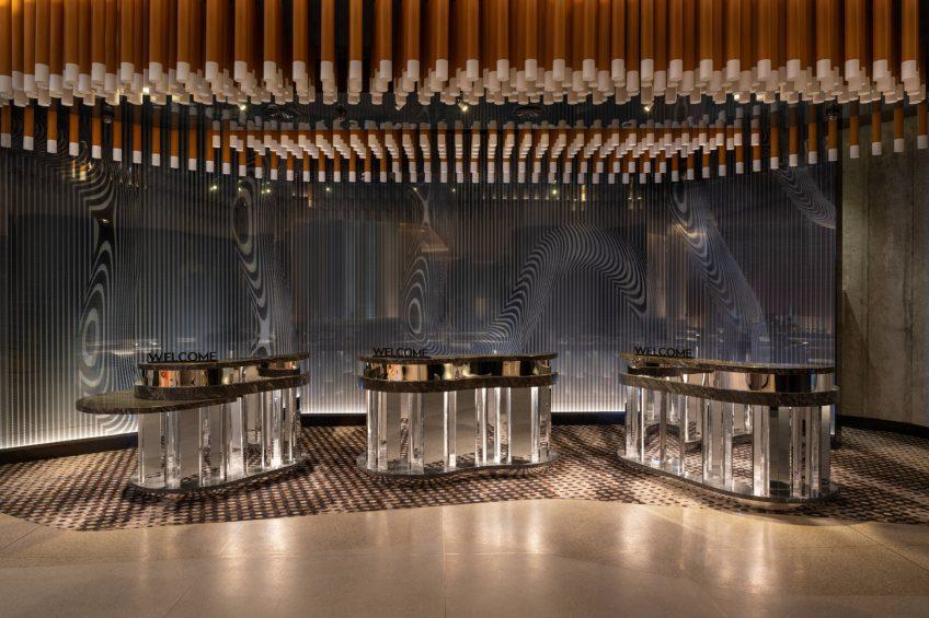 W Brisbane Luxury Hotel - Brisbane, Australia - Lobby Welcome Desk