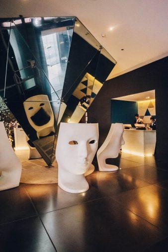 W Mexico City Luxury Hotel - Polanco, Mexico City, Mexico - Lobby Welcome Desk Style
