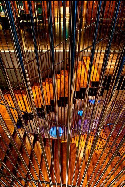 W Taipei Luxury Hotel - Taipei, Taiwan - Mood Stairs