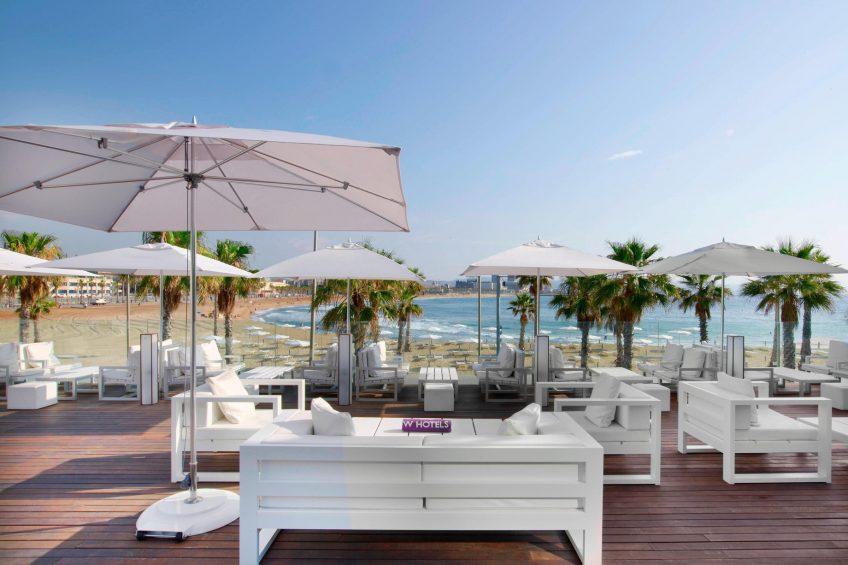 W Barcelona Luxury Hotel - Barcelona, Spain - Refresh Terrace