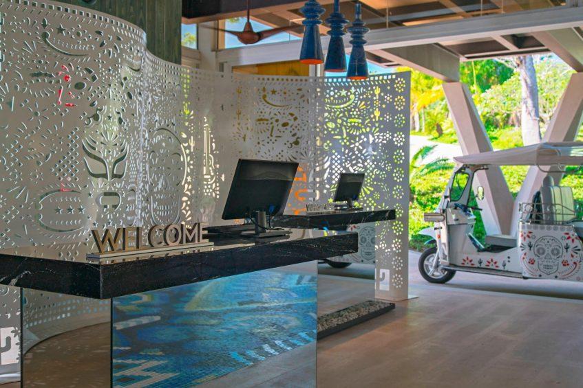 W Punta de Mita Luxury Resort - Punta De Mita, Mexico - Lobby Welcome Desk