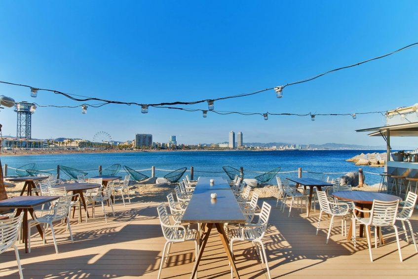 W Barcelona Luxury Hotel - Barcelona, Spain - Salt Beach Club Terrace Views