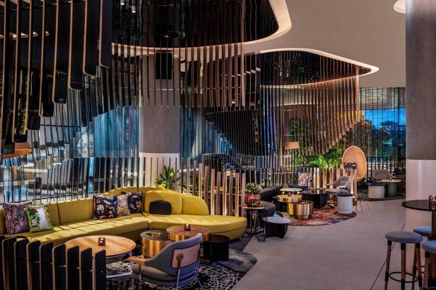 W Brisbane Luxury Hotel - Brisbane, Australia - Living Room Bar High Tea