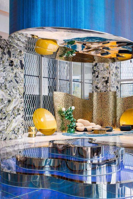 W Chengdu Luxury Hotel - Chengdu, China - Lobby Living Room