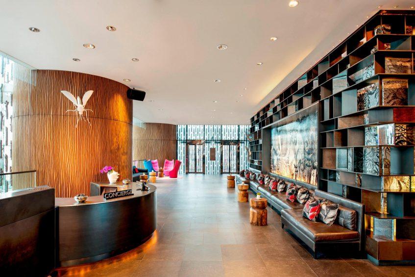 W Hong Kong Luxury Hotel - Hong Kong - Lobby Living Room