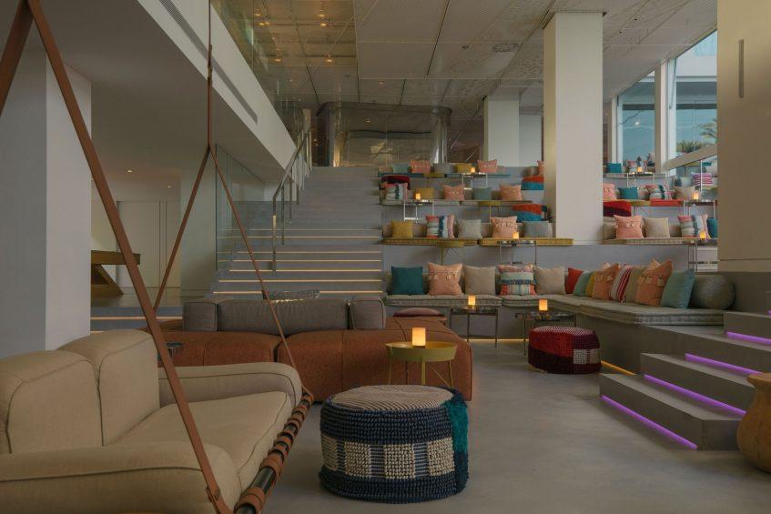 W Ibiza Luxury Hotel - Santa Eulalia del Rio, Spain - W Lounge Evening