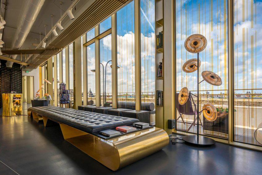 W Amsterdam Luxury Hotel - Amsterdam, Netherlands - W Lounge Seating
