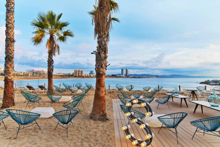 W Barcelona Luxury Hotel - Barcelona, Spain - Salt Beach Club Terrace