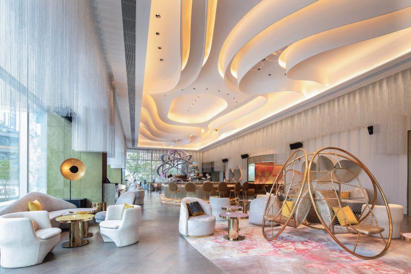 W Chengdu Luxury Hotel - Chengdu, China - Living Room Lounge Area