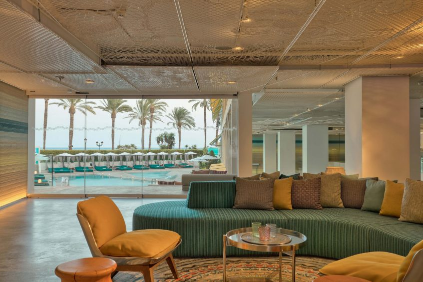 W Ibiza Luxury Hotel - Santa Eulalia del Rio, Spain - Welcome Area WET Deck Sea views