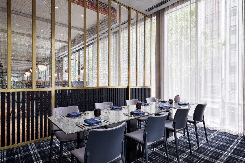 W Melbourne Luxury Hotel - Melbourne, Australia - Lollo Table