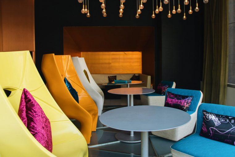 W Mexico City Luxury Hotel - Polanco, Mexico City, Mexico - Lobby Living Room Bar Lounge