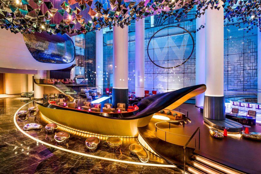 W Suzhou Luxury Hotel - Suzhou, China - Lobby Living Room