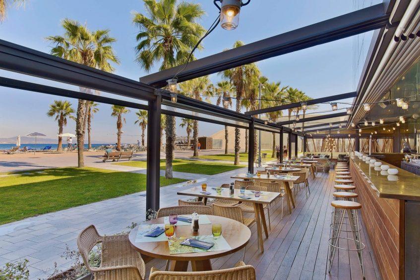 W Barcelona Luxury Hotel - Barcelona, Spain - Salt Restaurant Terrace