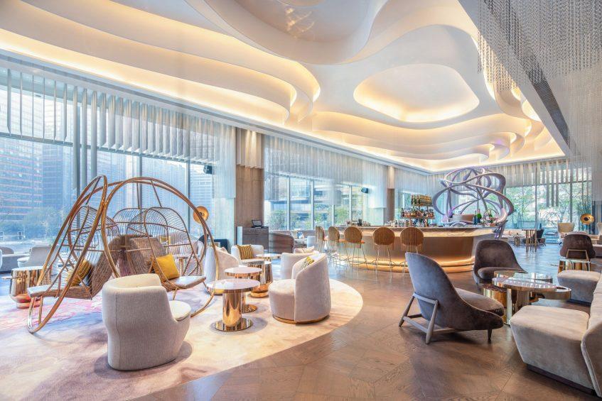 W Chengdu Luxury Hotel - Chengdu, China - Living Room Seating